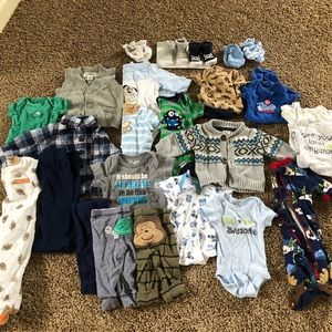 Other - 25 piece baby boys NB lot